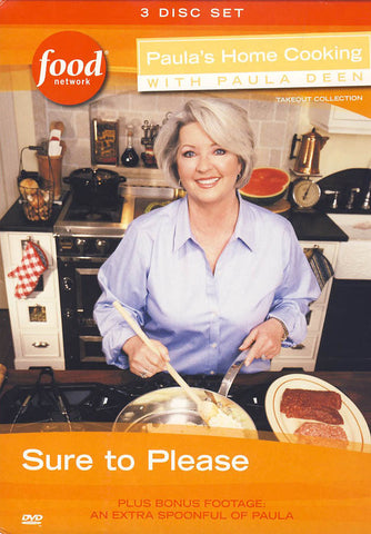 Paula's Home Cooking with Paula Deen - Sure To Please (Boxset) DVD Movie