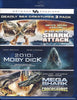Deadly Sea Creatures 3 pack (2-headed Shark Attack/2010:Moby Dick/MegaShark v Crocosaurus) (Blu-ray) BLU-RAY Movie