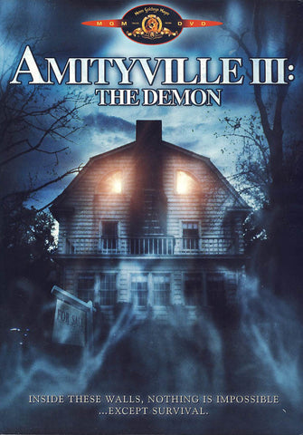 Amityville III - The Demon DVD Movie