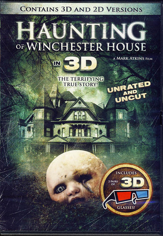 Haunting of Winchester House in 3D (2D/3D) DVD Movie