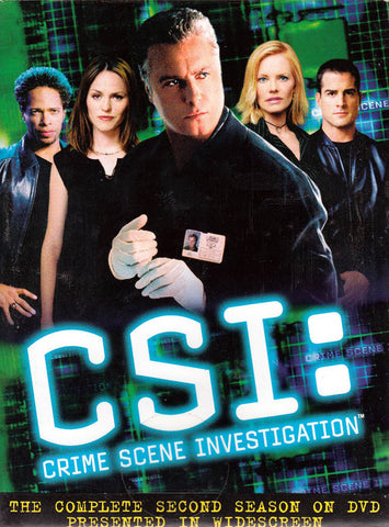 CSI: Crime Scene Investigation - The Complete Second Season (Boxset) DVD Movie