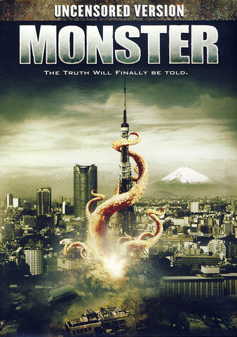 Monster (Limit 1 copy) DVD Movie