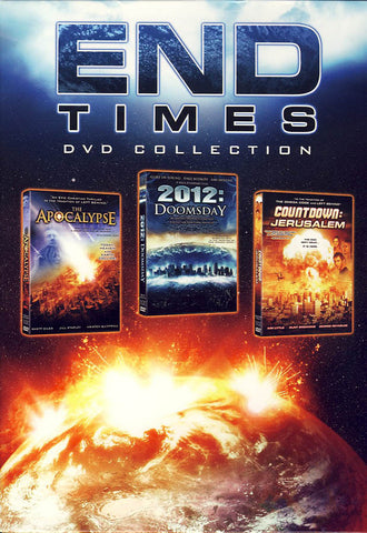 End Times Collection (Apocalypse / 2012:Doomsday / Countdown:Jerusalem) (Boxset) DVD Movie