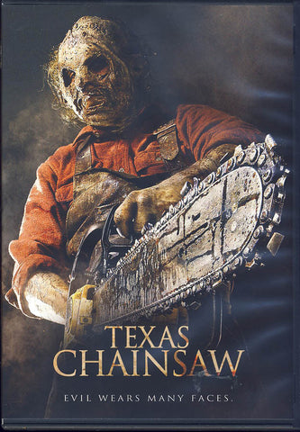 Texas Chainsaw DVD Movie