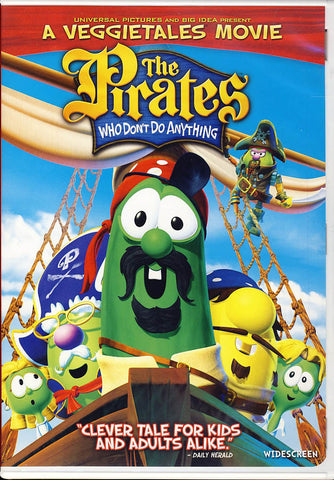 Pirates Who Don t Do Anything: A VeggieTales Movie (Widescreen) DVD Movie