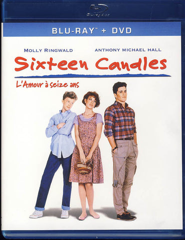 Sixteen Candles (1984) (Blu-ray + DVD + Digital Copy) (Bilingual) (Blu-ray) BLU-RAY Movie
