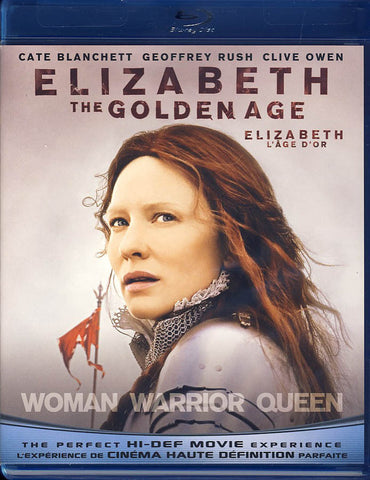 Elizabeth - The Golden Age (Bilingual) (Blu-ray) BLU-RAY Movie