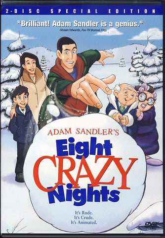 Eight Crazy Nights (Two Disc Special Edition) (Blue Cover) DVD Movie