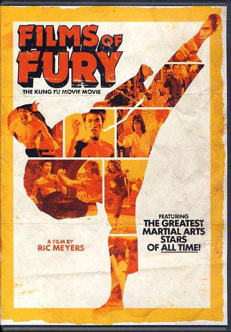 Films of Fury - The Kung Fu Movie Movie DVD Movie