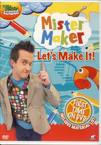 Mister Maker - Let's Make It! DVD Movie