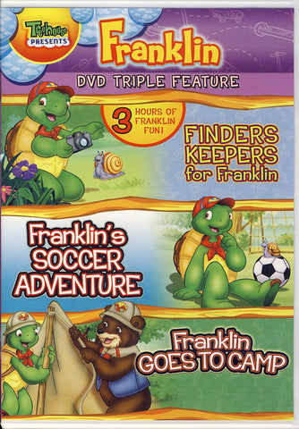 Finders Keepers for Franklin / Franklin s Soccer Adventure / Franklin Goes to Camp (DVD Triple Featu DVD Movie