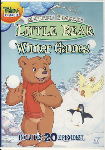 Little Bear Winter Games DVD Movie