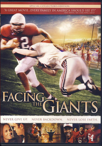 Facing the Giants (Special Collector's Edition) DVD Movie