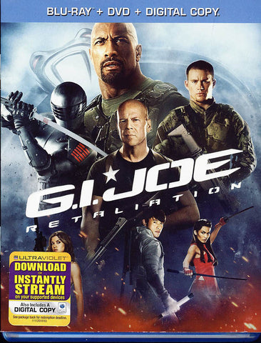 G.I. Joe: Retaliation (Blu-ray / DVD / Digital Copy +UltraViolet) (Blu-ray) BLU-RAY Movie