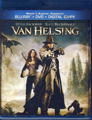 Van Helsing (Blu-ray+DVD+Digital Combo) (Blu-Ray) BLU-RAY Movie