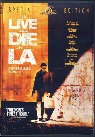 To Live and Die in L.A. (Special Edition) (MGM) (Bilingual) DVD Movie