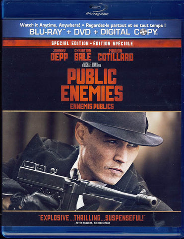 Public Enemies - Special Edition (Bilingual) (Blu-ray + DVD) (Blu-ray) BLU-RAY Movie