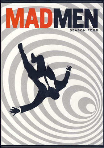 Mad Men - Season Four (4) (Keepcase) (White Cover) (LG) DVD Movie