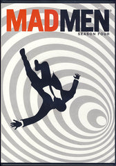 Mad Men - Season Four (4) (Keepcase) (White Cover) (LG)