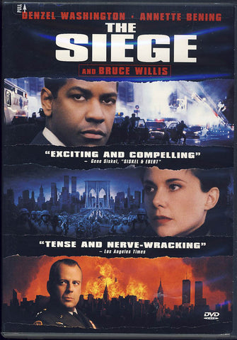 The Siege DVD Movie