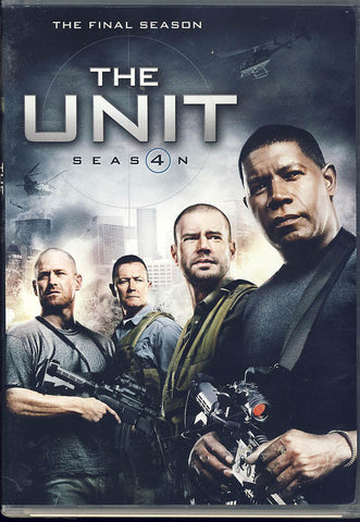 The Unit - Season 4 DVD Movie
