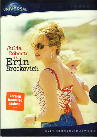 Erin Brockovich (Universal s 100th Anniversary) (Bilingual) DVD Movie