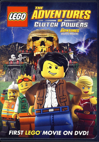 LEGO: The Adventures of Clutch Powers (Bilingual) DVD Movie