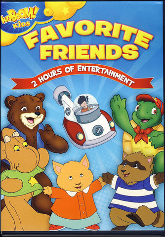 Kaboom Kids - Favorite Friends DVD Movie