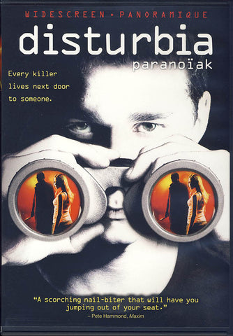 Disturbia / Paranoiak (Bilingual) DVD Movie