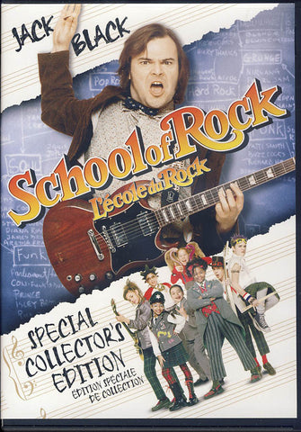 The School of Rock / L ecole du Rock (Bilingual) DVD Movie