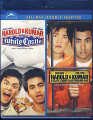 Harold & Kumar Double Feature (Go to White Castle / Escape from Guantanamo bay) (Blu-Ray)