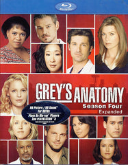 Grey's Anatomy: Season Four - Expanded (Blu-ray)