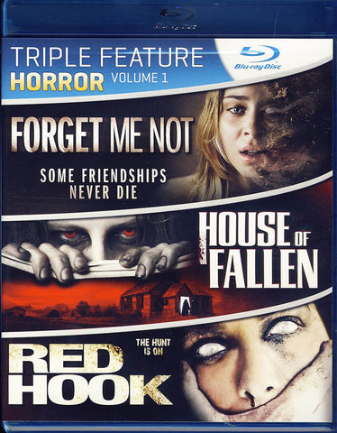 Forget Me Not / House Of Fallen / Red Hook (Triple Feature Horror) (Blu-ray) BLU-RAY Movie
