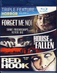 Forget Me Not / House Of Fallen / Red Hook (Triple Feature Horror) (Blu-ray)
