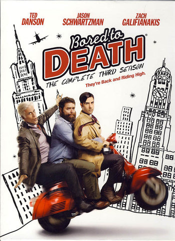 Bored to Death - The Complete Third Season (Boxset) DVD Movie