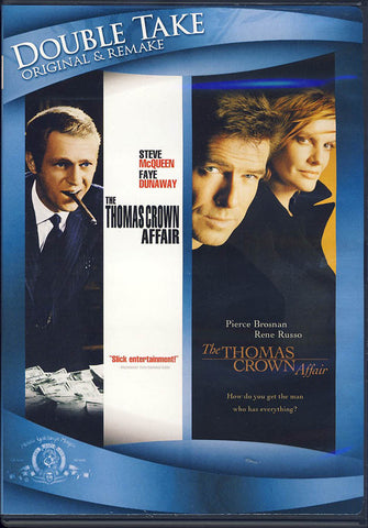 The Thomas Crown Affair - 1968 and 1999 (Double Feature) DVD Movie