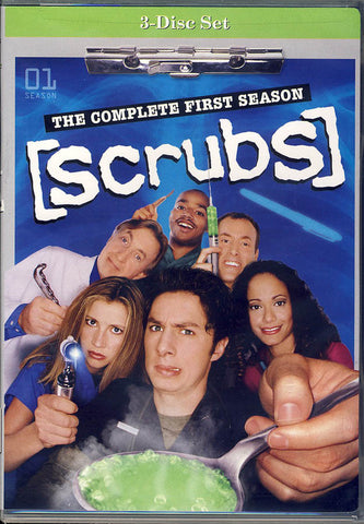 Scrubs - The Complete First Season (Boxset) DVD Movie