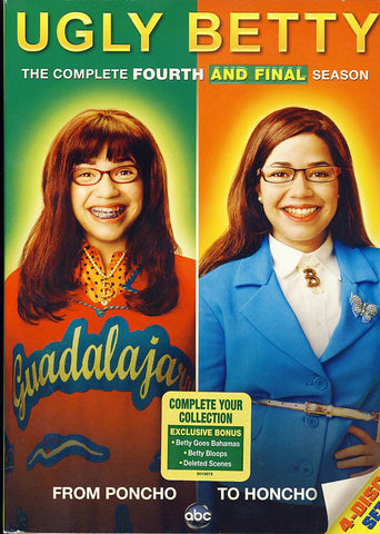 Ugly Betty - The Complete Fourth and Final Season (Boxset) DVD Movie