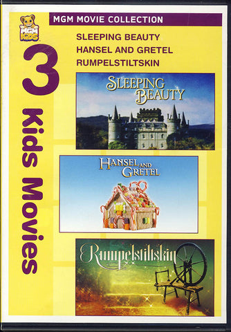 Sleeping Beauty / Hansel and Gretel / Rumpelstiltskin (3 Kids Movies) DVD Movie