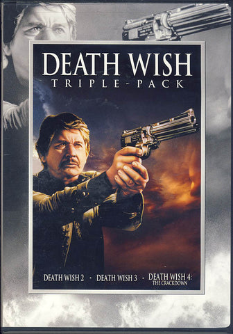 Death Wish 2 / Death Wish 3 / Death Wish 4 (Triple Feature) DVD Movie