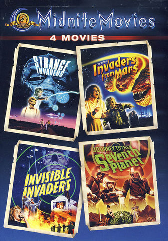Strange Invaders / Invaders from Mars / Invisible Invaders / Journey to the Seventh Planet DVD Movie