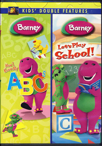 Barney (Now I Know My ABCs/Let's Play School) (Double Feature) DVD Movie