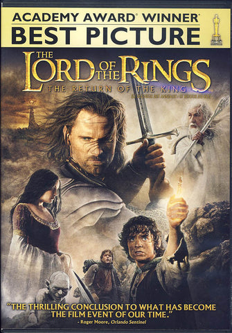 The Lord of the Rings: Return of the King (Bilingual) DVD Movie