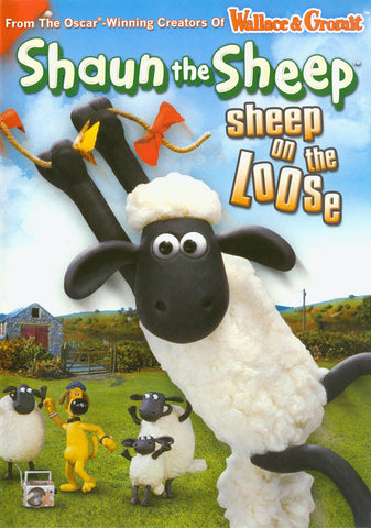 Shaun the Sheep - Sheep on the Loose DVD Movie