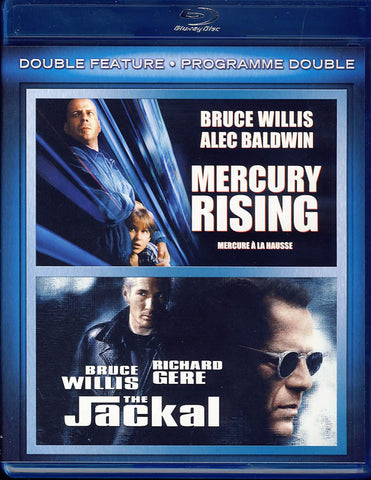 Mercury Rising / The Jackal (Bilingual) (Blu-ray) BLU-RAY Movie