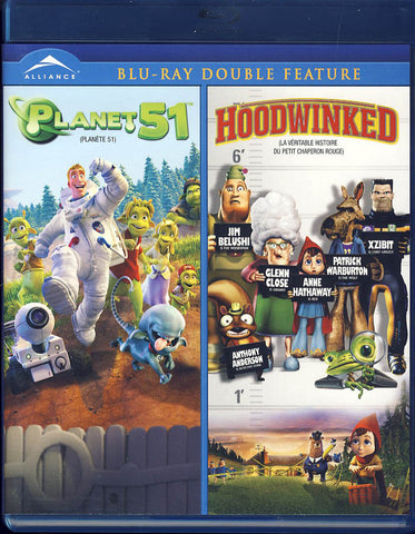 Planet 51 / Hoodwinked - Double Feature (Bilingual) (Blu-ray) BLU-RAY Movie