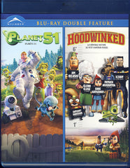 Planet 51 / Hoodwinked - Double Feature (Bilingual) (Blu-ray)