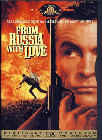 From Russia with Love (Snapcase) DVD Movie