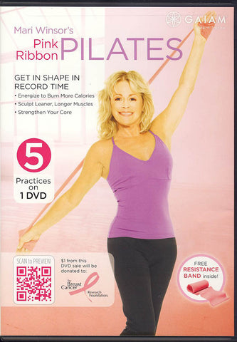Mari Winsor's Pink Ribbon Pilates DVD Movie