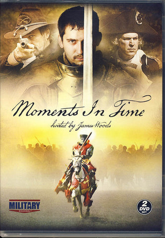 Moments in Time - Hosted by James Wood (Military Channel) DVD Movie